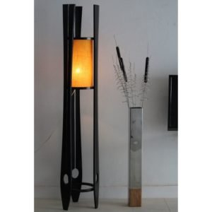 Stylish Wooden Floor Lamp