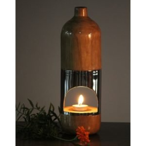 Wooden Aroma Diffuser with 304 Steel & Teak Wood