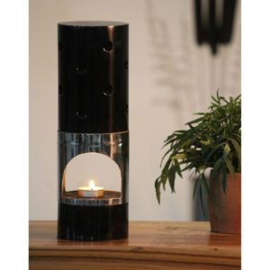 Wooden Aroma Diffuser with 304 Steel & Mango Wood