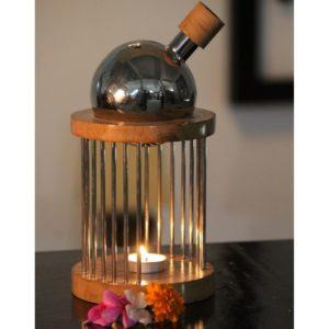 Teak Wood Aroma Diffuser 304 Steel