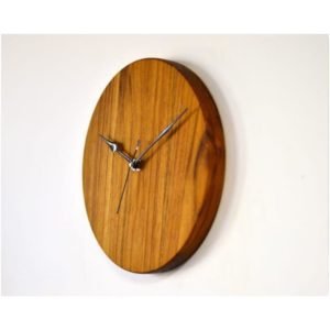 Teak Wood Wall Clock