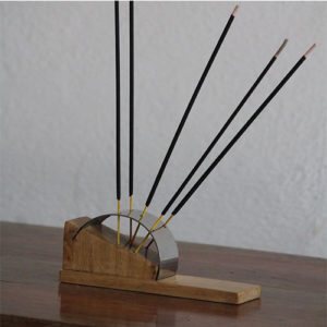 Wooden Incense Stand Teak Wood