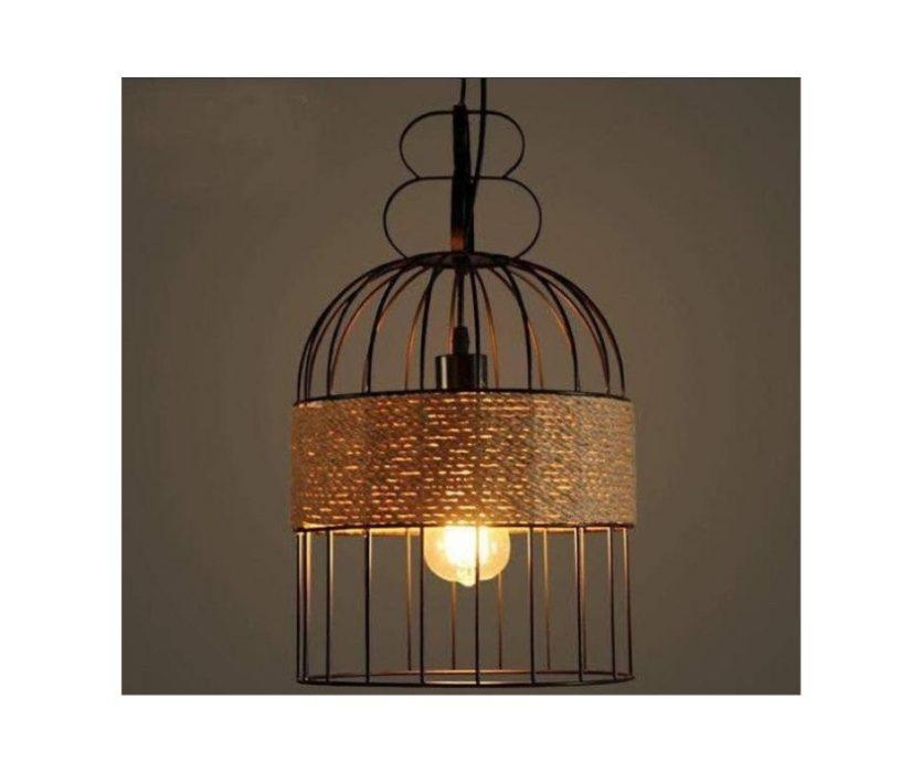 Metal Cage Pendant Lamp
