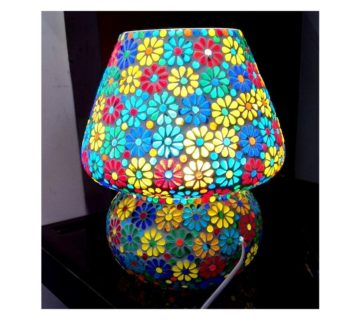 Tiffany Stone - GlassTable Lamp-c